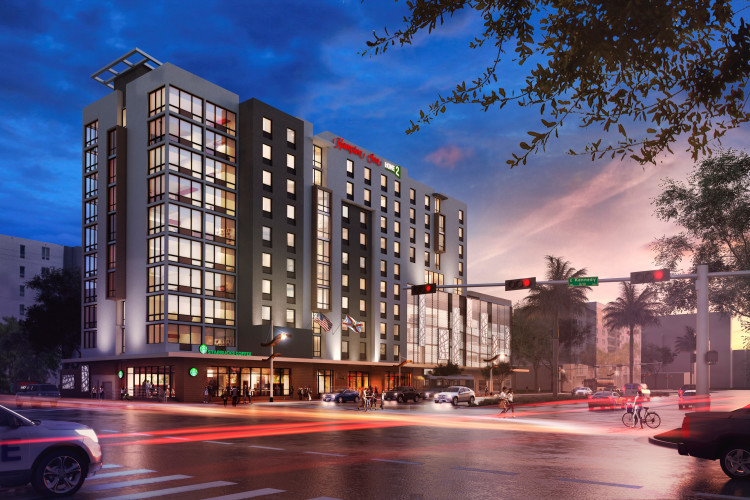 Hampton Inn & Home2 Suites Tampa Downtown Channel District (Opening Spring/Summer 2019!)