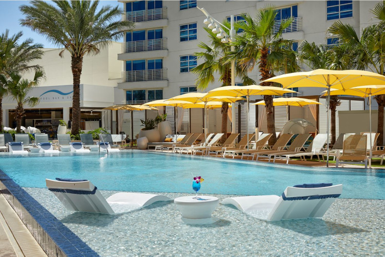 Seminole Hard Rock Tampa Pool Daytime