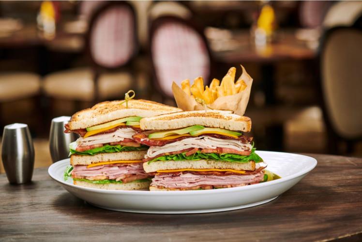 Rise Kitchen & Deli, Cali Club Sandwich