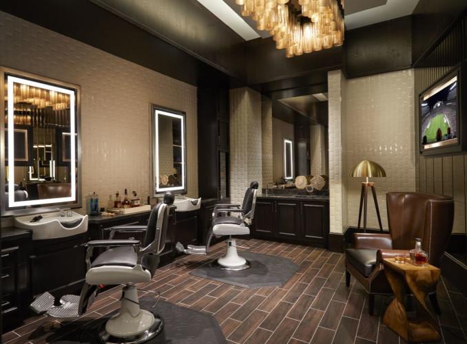Rock Spa & Salon, Barbershop