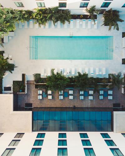 Hotel Haya Pool Deck