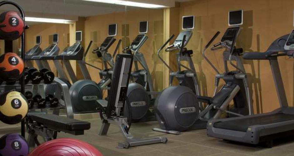 Hotels in Tampa Westshore Hilton Tampa Airport Westshore Fitness Center.jpg