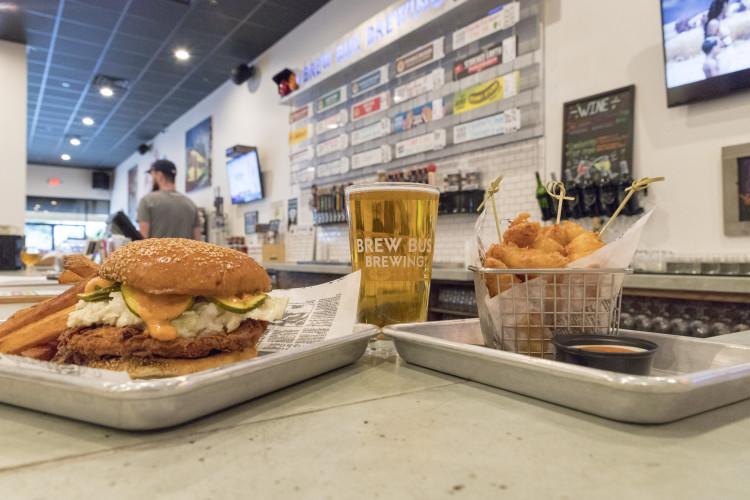 food and scene