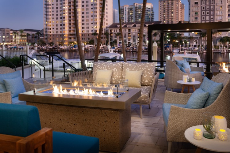 Anchor and Brine Casual Patio Seating