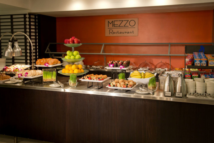 Mezzo Restaurant open for breakfast