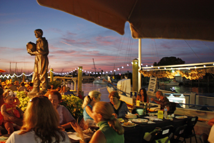 Night in the Islands event at the Sponge Docks