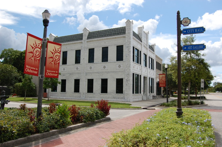 Oldsmar Historical Walking Tour begins at our 1919 Bank Building on State Street