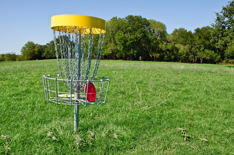 Gold Championship Disc Golf Course – FREE to play 365 days a year