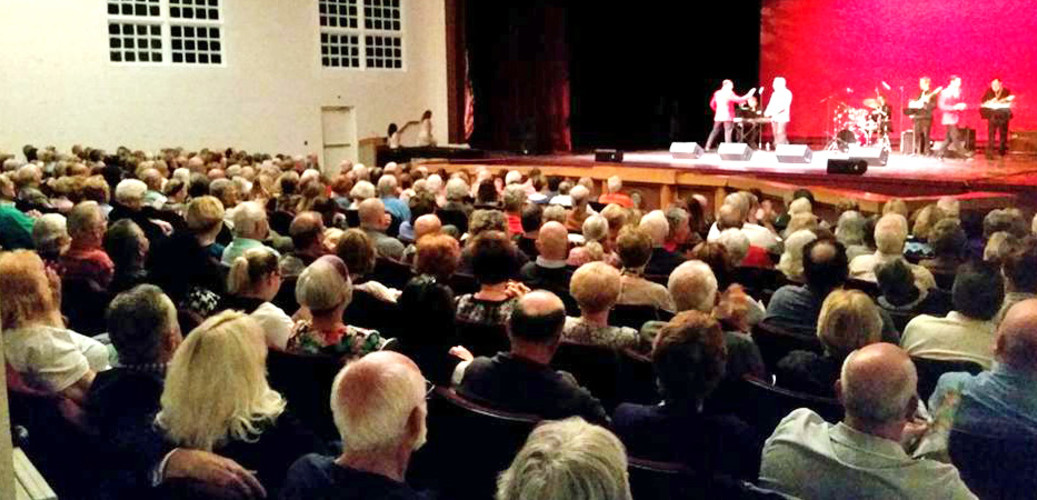 Patrons enjoying a show at Tarpon Springs Performing Arts Center