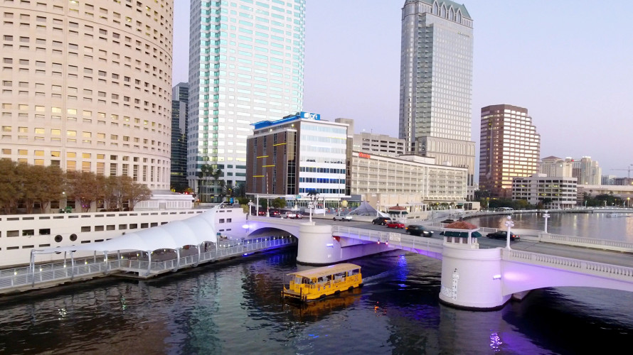 Pirate Water Taxi in Downtown Tampa