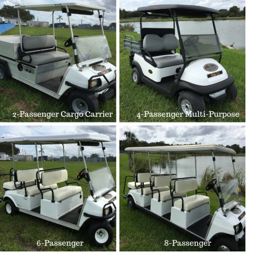 Rental Golf Vehicles