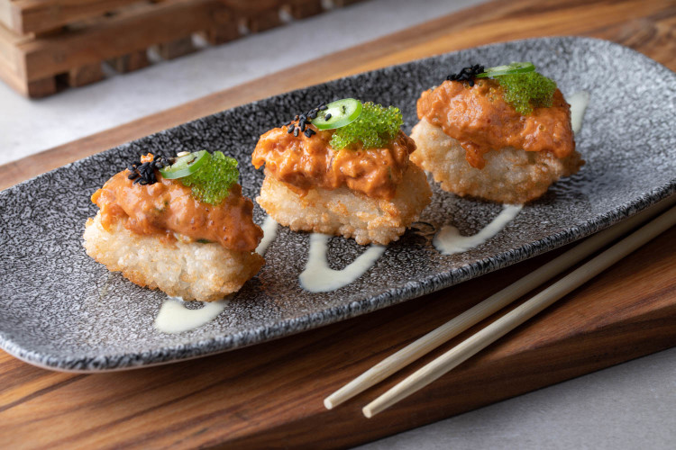 Rock 'N Raw Crispy Rice Spicy Tuna