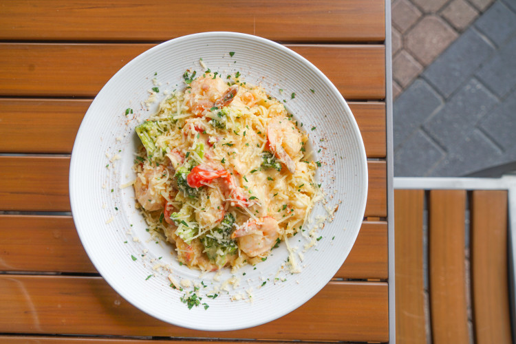 Seafood Linguine Alfredo