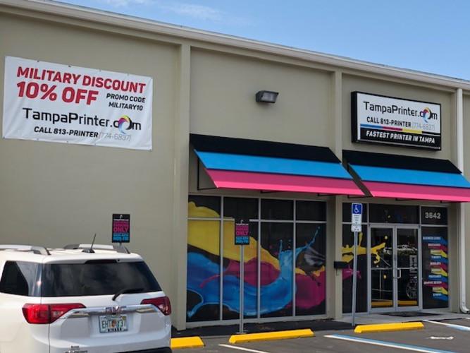 Tampa Printer Storefront
