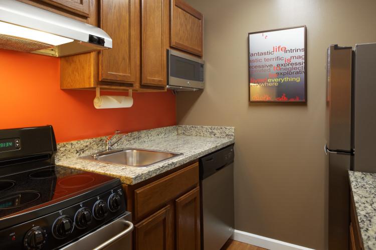 Stuido Suite - Kitchen Area
