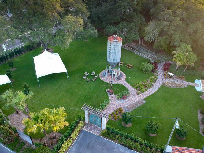 Silo Garden Event Space