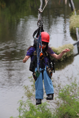 Adaptive Ziplining at Gatorland