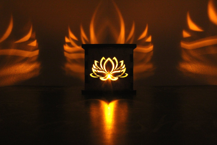 Lotus Flower Tea Light