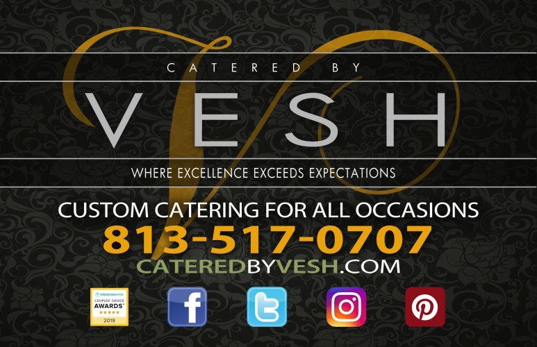 Catered By Vesh