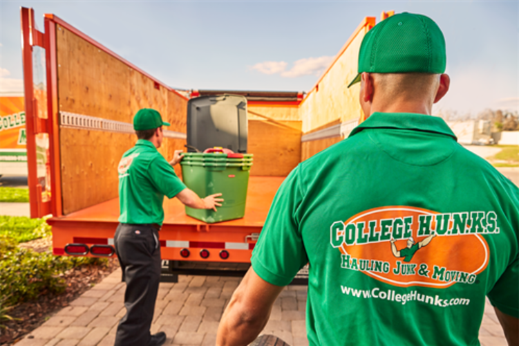 College HUNKS Hauling Junk & Moving