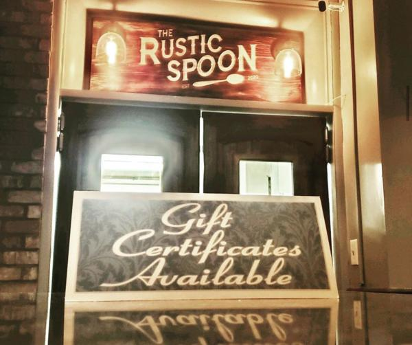 The Rustic Spoon gift card