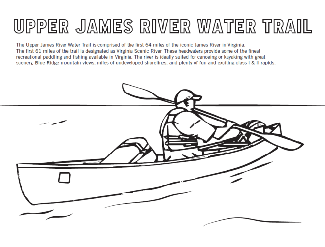 James River - Coloring Sheet