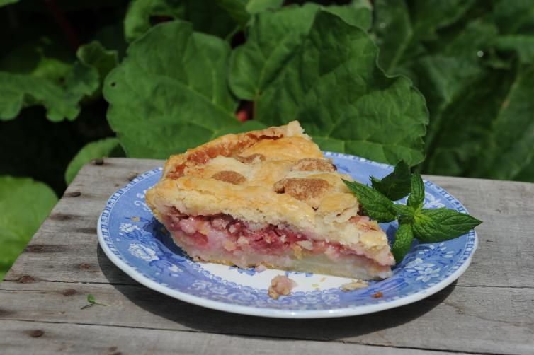 Rhubarb Pie - Jennifer Schell