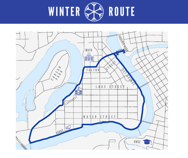 Winter Route Map
