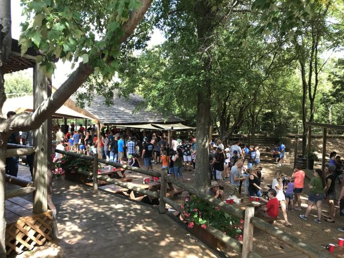 Eberly Farm can fit up to 1,500 guests for weddings, reunions or corporate picnics