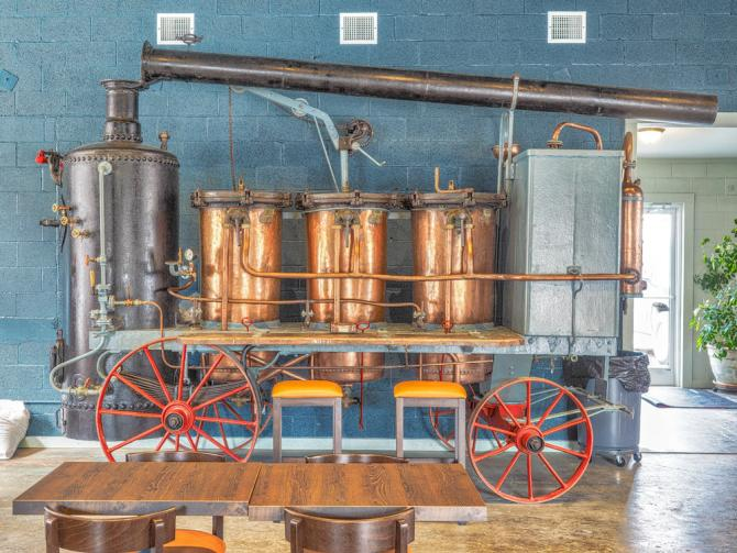 Franklin County Distilleries - Moonshine Still