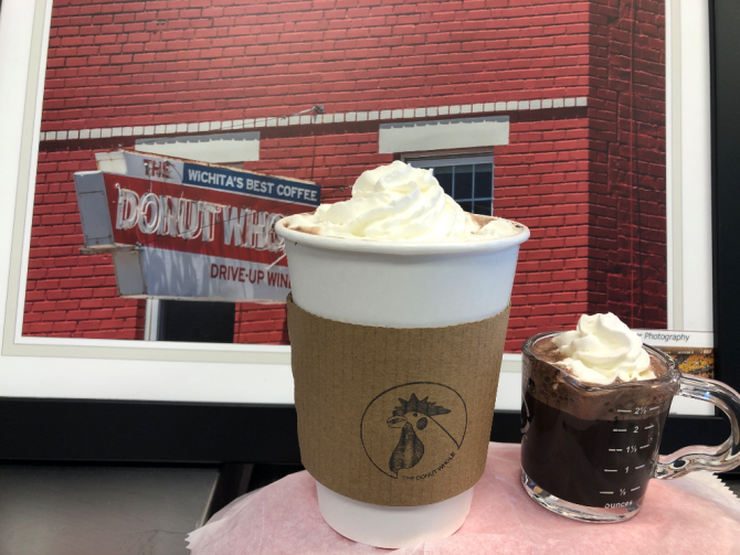 Hot Chocolate at the Donut Hole