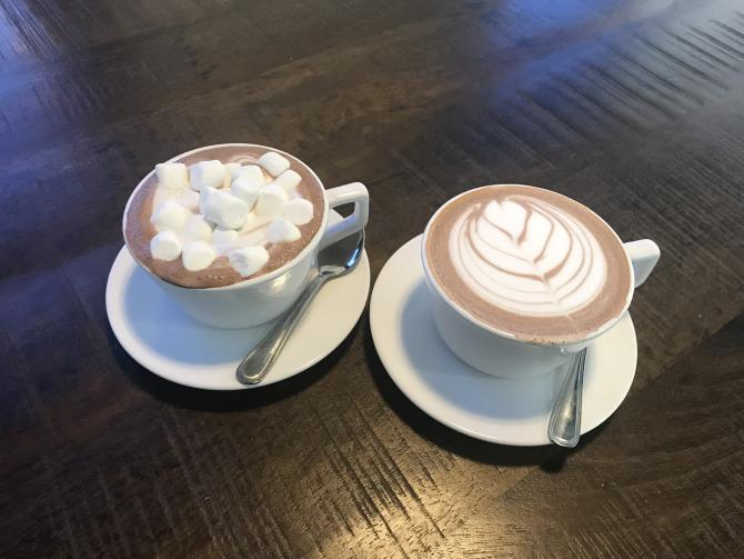 Leslie Coffe Co Hot Chocolate