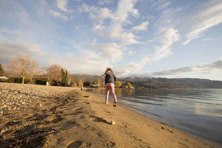 Girls at Sarsons Beach