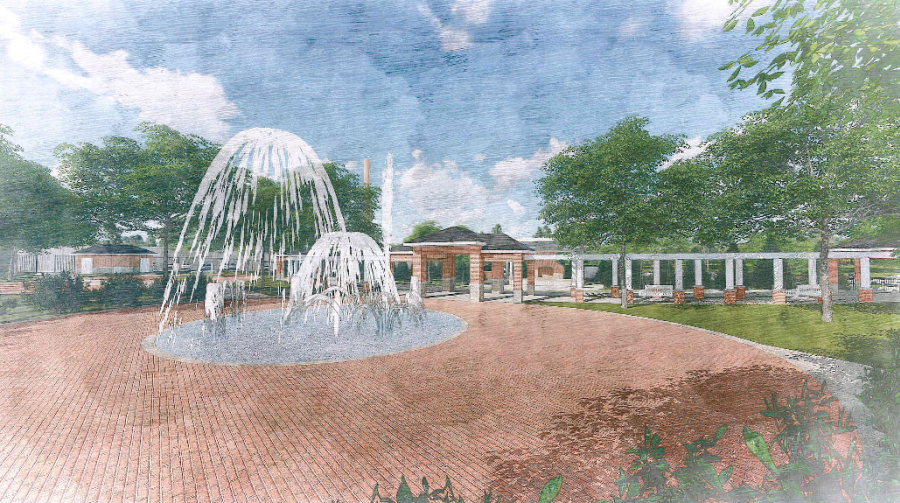 Florence Mill Park & Amphitheatre Rendering