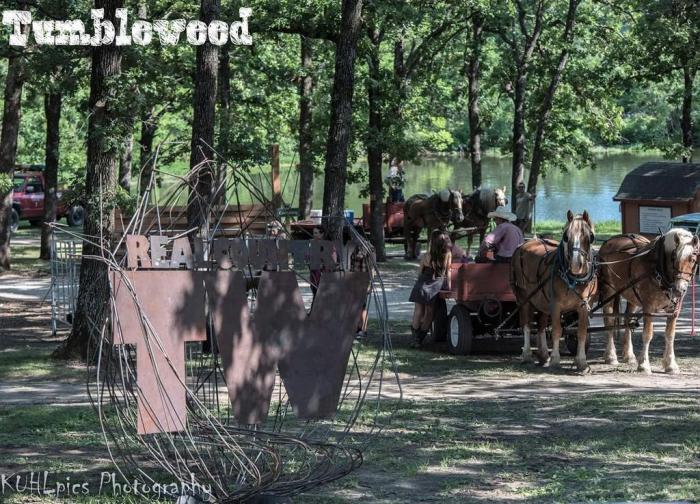 Tumbleweed Festival Camp Ground Horses
