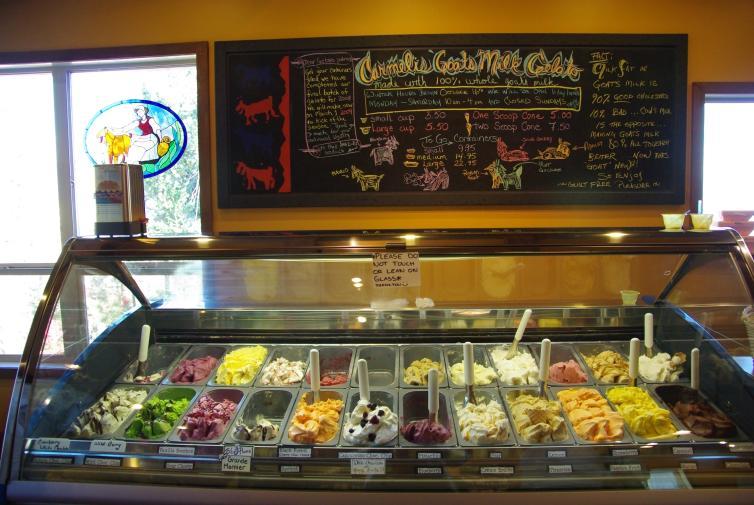 Carmelis Goat Cheese Artisan in Kelowna, BC