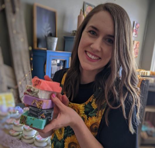 Tanna Johnson Rustic Essentials Soap Company