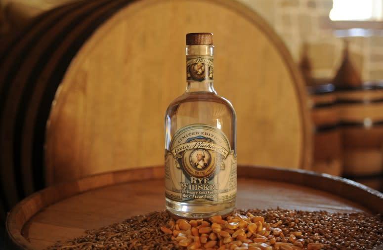 George Washington's Signature Rye Whiskey
