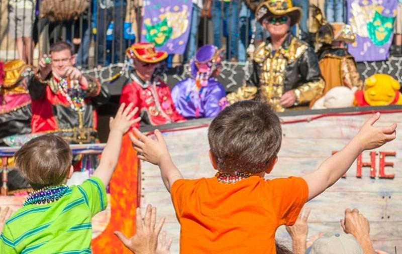 Catch a good time during Mardi Gras parades