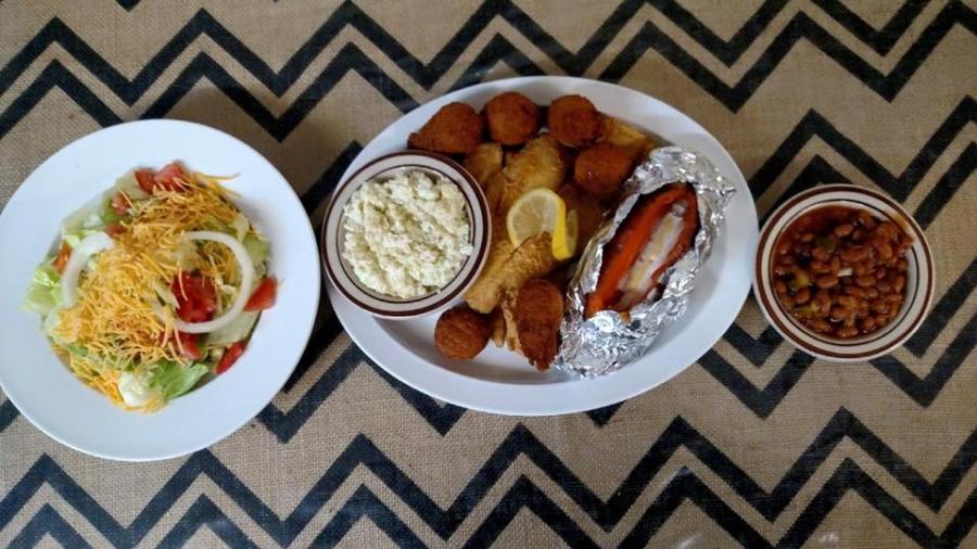 Mason jar Food Plate