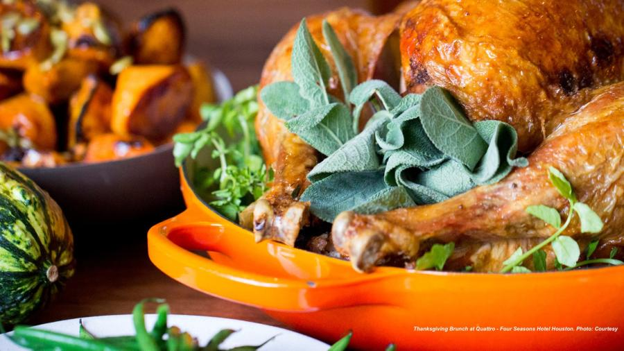 Thanksgiving Brunch at Quattro - Four Seasons Hotel Houston