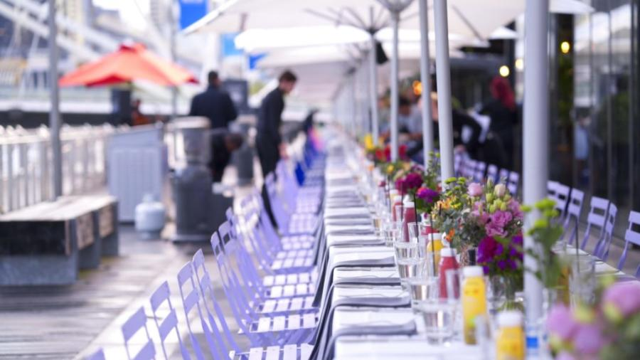 Showtime Event Group - Long Lunch – South Wharf Promenade