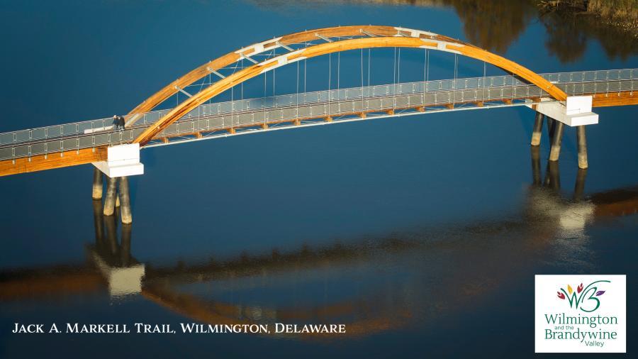 JAM Trail Bridge Zoom Background