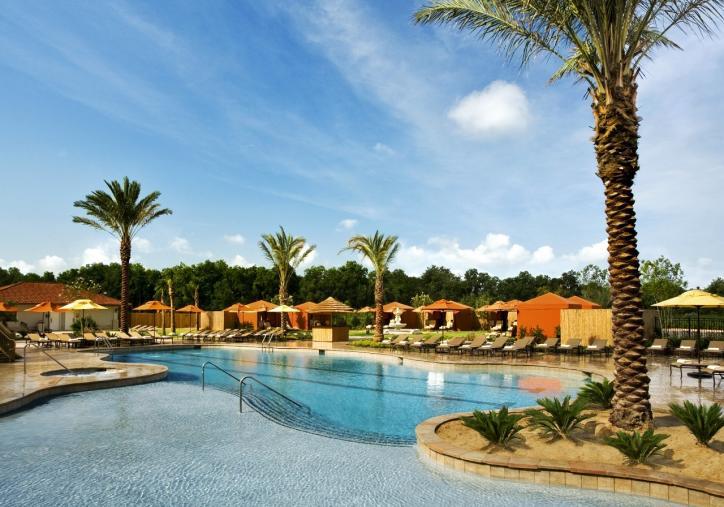 L'auberge Casino Resort Pool in Lake Charles, LA