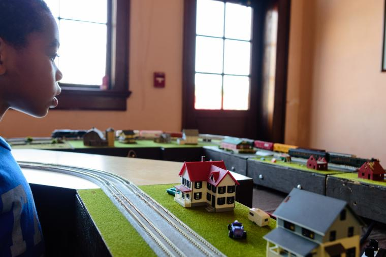 Selma Railroad Days Train Model