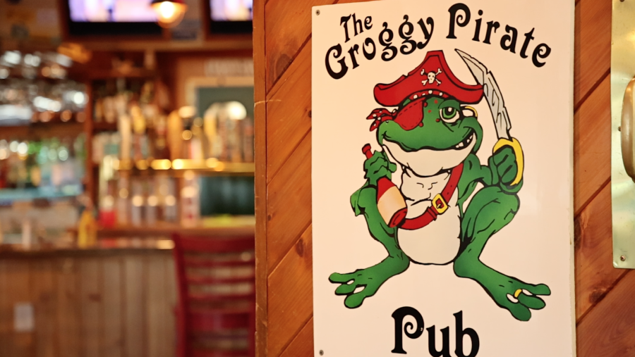 Entrance to The Froggy Dog in Avon, NC