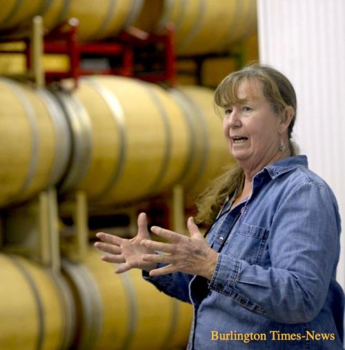 Debbie at IronGate Winery