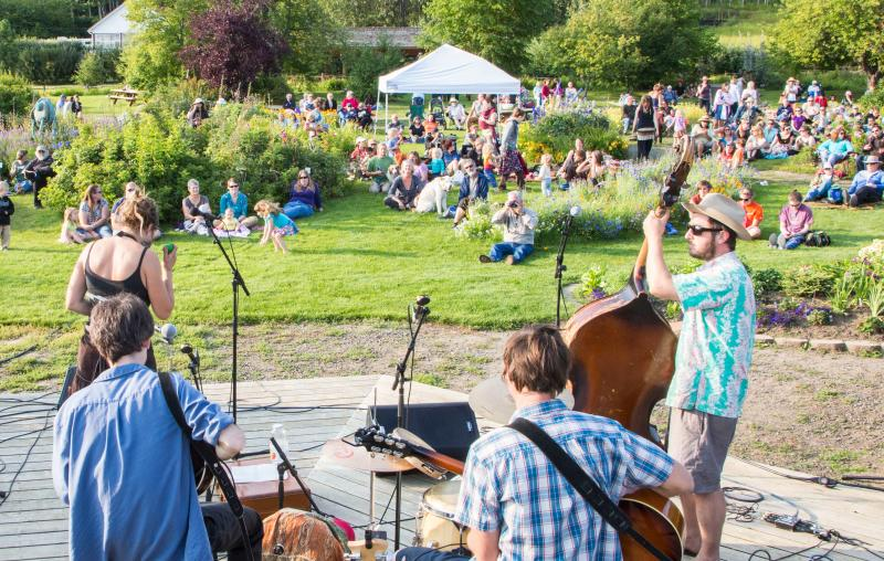 Music in the Garden - Fairbanks Alaska