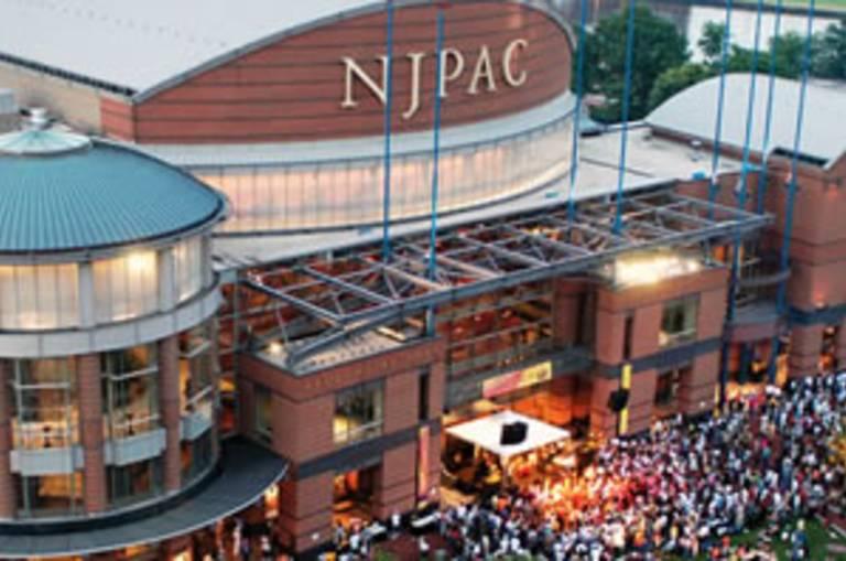 NJPAC exterior