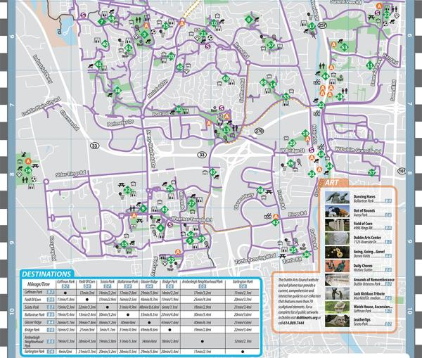 2019 Bike Map - City of Dublin